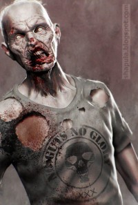 No Guts No Glory - Zbrush Zombie by ~Shapula