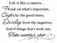 Life is like a camera | We Heart It