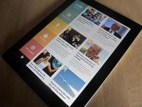 News iPad app by Kasper Andersen