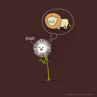 To Be a Dandelion by *NaBHaN