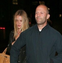Rosie Huntington-Whitelety with Jason Statham | Celebrity-gossip.net