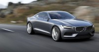 Volvo Concept Coupe - Photorealistic CG Rendering - Car Body Design