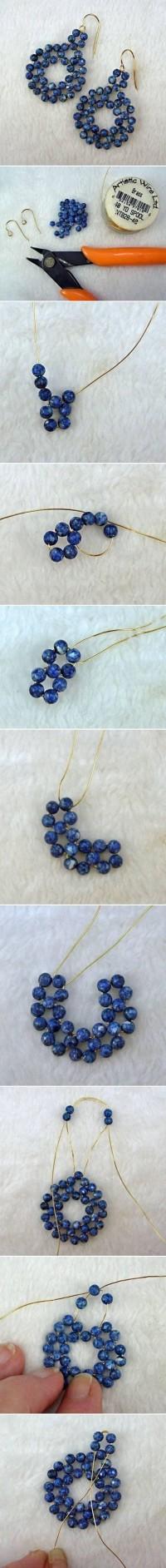 DIY Beads on Wire Earrings DIY Projects | UsefulDIY.com