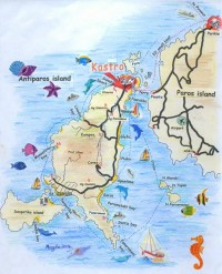 Antiparos Map | Travel Information, Sightseeing & Attractions