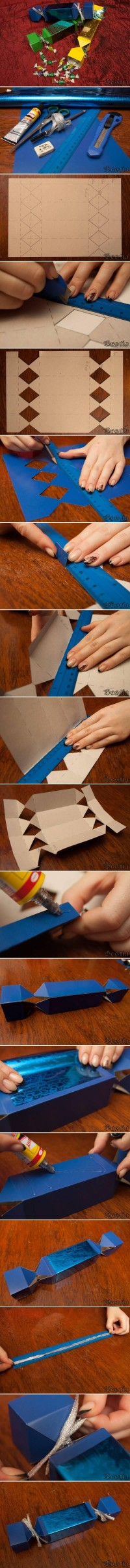DIY Lovely Candy Style Box DIY Projects | UsefulDIY.com