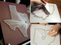 Map String Art DIY Tutorial | Hip Home Making.com