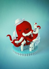 Funny and Cute Felt Toys by Hine Mizushima