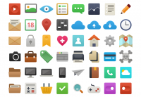 It's Flat! 48 Free Vector Icons | MediaLoot
