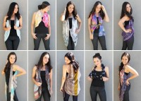 10 Ways to Turn a Scarf into a Vest DIY Projects | UsefulDIY.com