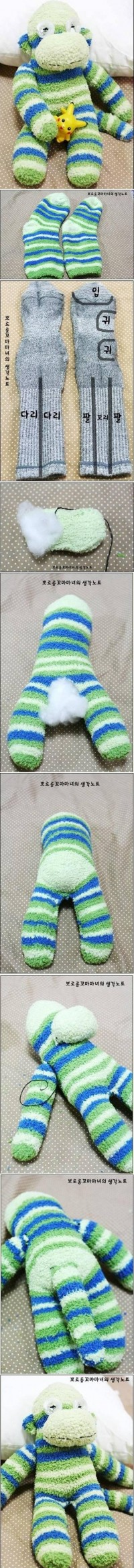 DIY Sock Monkey Terry DIY Projects | UsefulDIY.com