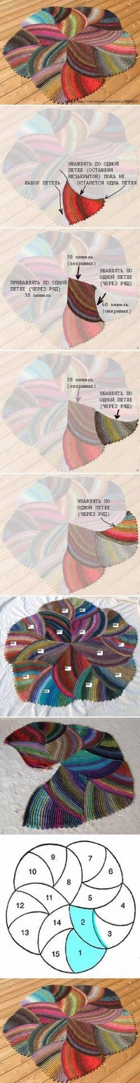 DIY Melange Rug DIY Projects | UsefulDIY.com