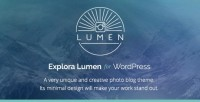Lumen - Responsive Photography WordPress Theme (Photography) - Free Download Center