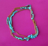 Sequined Chain Necklace DIY Tutorial | Hip Home Making.com
