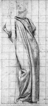 Francis Vallejo | inspiration: kenyon cox 1856-1919