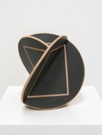 0utsider - John MasonLarge, Triangular Black Orb with...