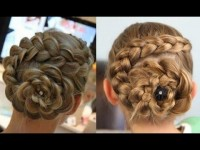 Dutch Flower Braid Updo DIY Fashion Tips | DIY Fashion Projects