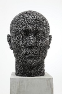 Figurative Sculptures Made From Tightly Welded Chains | Colossal