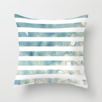 NAUTICAL BOKEH Throw Pillow by colorstudio | Society6
