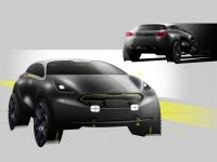 Kia Niro Concept - Design Sketches - Car Body Design