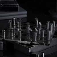 Hammond Black Chess Set by Ralph Lauren | Fancy Crave