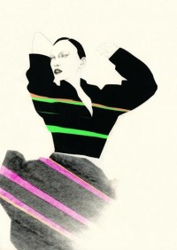 New Nordic Fashion Illustration - Cecilia Carlstedt