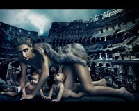 anthony luke's not-just-another-photoblog Blog: Annie Leibovitz Lavazza Calendar - The Making Of