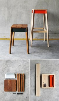 designvagabond: pack series stool