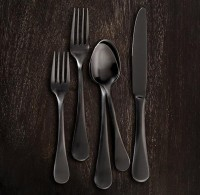 Blakes 5-Piece Place Setting Blackened Stainless Steel