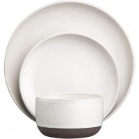 black clay dinnerware in dinnerware | CB2