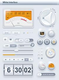 store - Tablet / Phone User Interface White SET - dmonzon.com