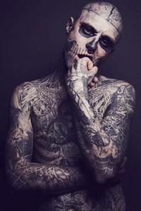 The best tattoos of Rick Genest - Tattoos and Tattoo Designs