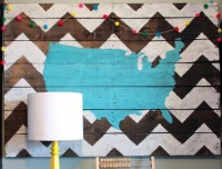 USA Pallet Wall Art DIY Tutorial | Hip Home Making