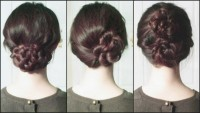 Party Updos Fan Braid Pretzel Bun Double Peonies DIY Fashion Tips | DIY Fashion Projects
