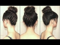 Spiral Staircase Braided Bun DIY Fashion Tips | DIY Fashion Projects