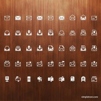 Mail PSD Icon Set - Free Icons