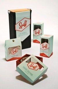 Packaging Design: Spiff by Oliver Lo