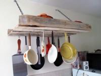 Pallet Pot Rack DIY Tutorial | Hip Home Making