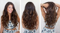 Big Voluminous Curls Hair DIY Fashion Tips | DIY Fashion Projects