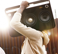 Fancy - TDK 3 Speaker Boombox Audio System