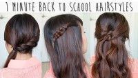 1 Minute Back to School Hairstyles DIY Fashion Tips | DIY Fashion Projects