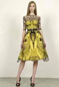 Amoebas Amoebas Everywhere! • Dress by Alexander McQueen. Love the design!!