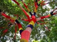 Amoebas Amoebas Everywhere! • Knitted Tree