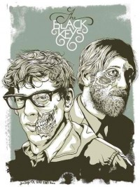 Amoebas Amoebas Everywhere! • black keys poster by jeff proctor