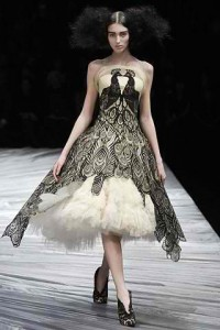 Amoebas Amoebas Everywhere! • Alexander McQueen dress