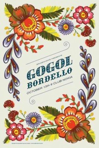 Amoebas Amoebas Everywhere! • Gogol Bordello poster by Sara Wood