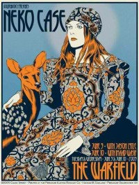 Amoebas Amoebas Everywhere! • Neko Case by Chuck Sperry