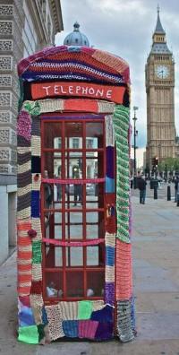 Amoebas Amoebas Everywhere! • mchangesq: Urban Graffiti Knitters