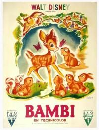 Amoebas Amoebas Everywhere! • Vintage Bambi poster