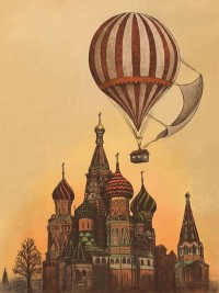 Amoebas Amoebas Everywhere! • blarggggg: Moving to Moscow by Terry Fan