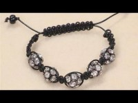 Shamballa Style Bracelet DIY Fashion Tips | DIY Fashion Projects